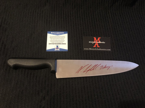 "NEVE_34 - Real 10"" Blade Knife Autographed By Neve Campbell"