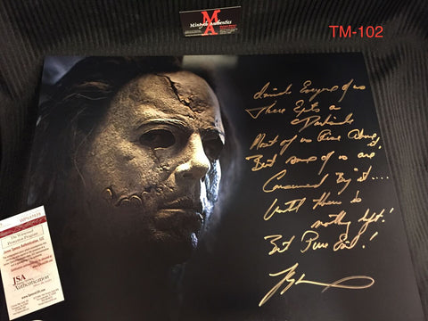 TM_102 - 16x20 Photo Autographed By Tyler Mane
