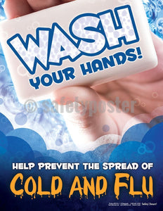 Safety Poster - Wash Your Hands - safetyposter.com