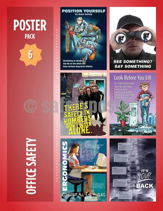 Safety Posters Pack - Office Poster Packs