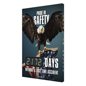 Pride In Safety _ Days Without A Lost-Time Accident (Eagle Updated) Digi-Day 3