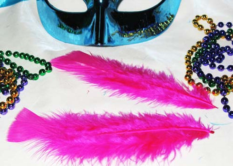 4 to 6 Inches Fuchsia Feather ( 1 Bag of Appx 75-100 Pcs)