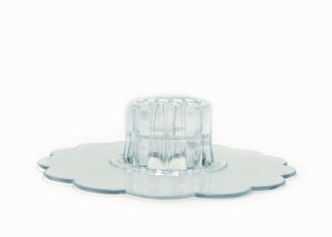 "6"" Plastic Connect Dish (1 Piece)"