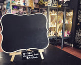 "13"" Chalkboard Easel Party Decoration"