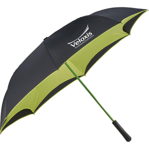 "46"" Colorized Manual Inversion Umbrella - FlywheelPromotions.com"
