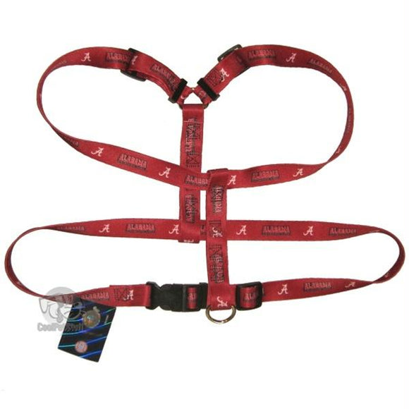 Alabama Crimson Tide Dog Harness