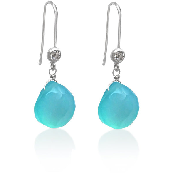 Aquamarine Earring for Courage
