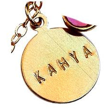 Extra Name Charm (Gold Filled)