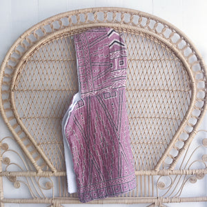 Lavender Baby Hooded Towel