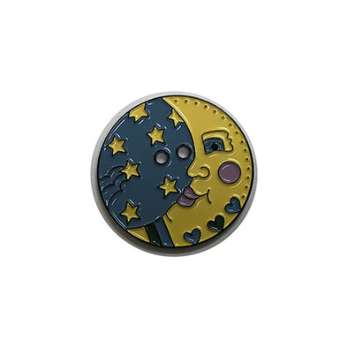 SBButton Moon - Metal