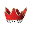 Mardi Gras Party Supplies - Plush Royal Crown - red