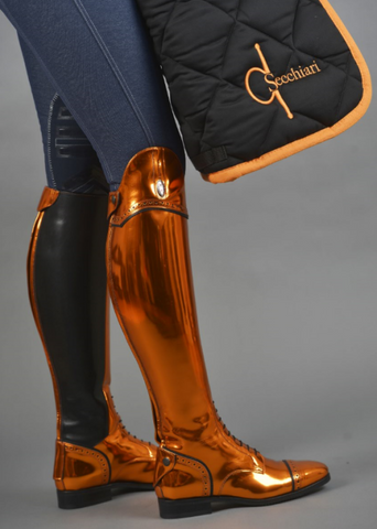 Chrome Orange 100 Riding Boots
