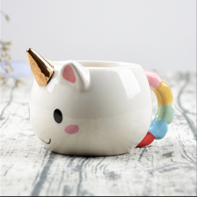 Cute 3D Rainbow Unicorn Mug