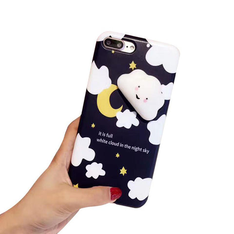 3D Squishy Cloud Phone Case