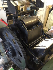 VICOBOLD parallel platen letterpress printing press for sale