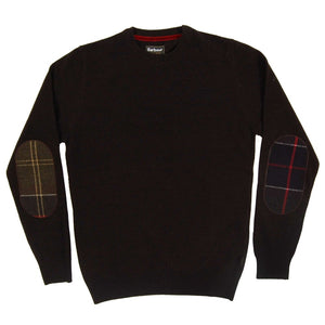 Barbour - Harrow Crew Neck - Dark Brown - Lardieri Store