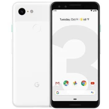 Google Pixel 3 G013A 64GB Clearly White (Unlocked) Brand New Sealed