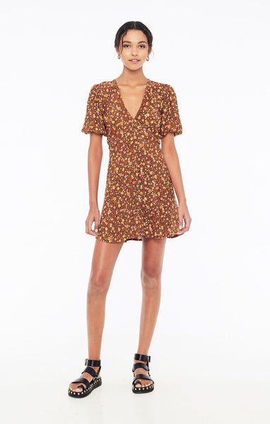 Faithfull Ilia Mini Dress - Nicasia Floral Print