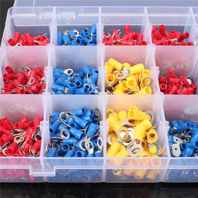 Assorted Crimp Terminal Kit - 1200 Pieces from PMD Way with free delivery worldwide