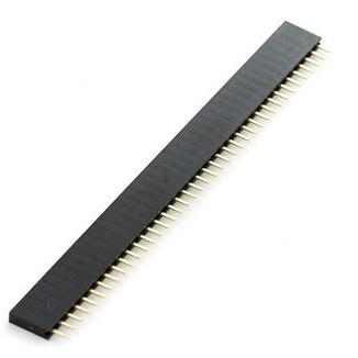 40x1 Pin Female Header Strip - 10 Pack from PMD Way with free delivery worldwide