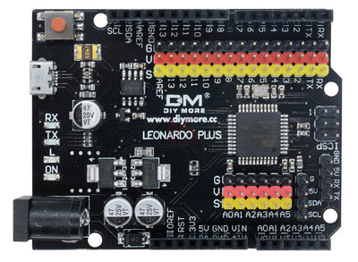 Great value Arduino Leonardo R3 Compatible with Extra I/O Connections from PMD Way with free delivery, worldwide