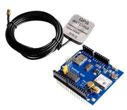 Receive and log GPS position data with the Neo-6M GPS Shield with active antenna for Arduino from PMD Way, with free delivery worldwide
