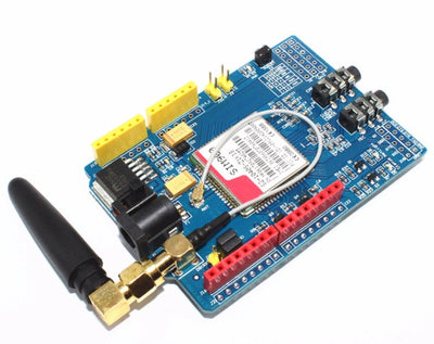 Give your Arduino the power to communicate over the cellular network with a SIM900 GPRS/GSM Cellular Shield for Arduino from PMD Way - with free delivery, worldwide