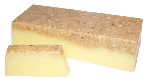 Luxury Banana & Coconut Smoothie Soap Slice