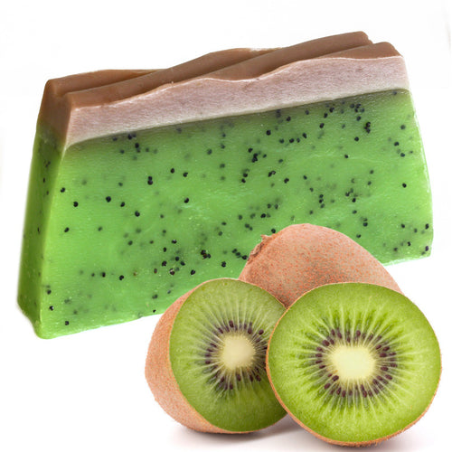 Tropical Paradise Kiwi Soap Slice