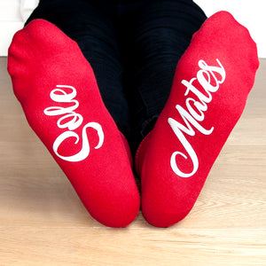 Romantic Sole Mates Socks
