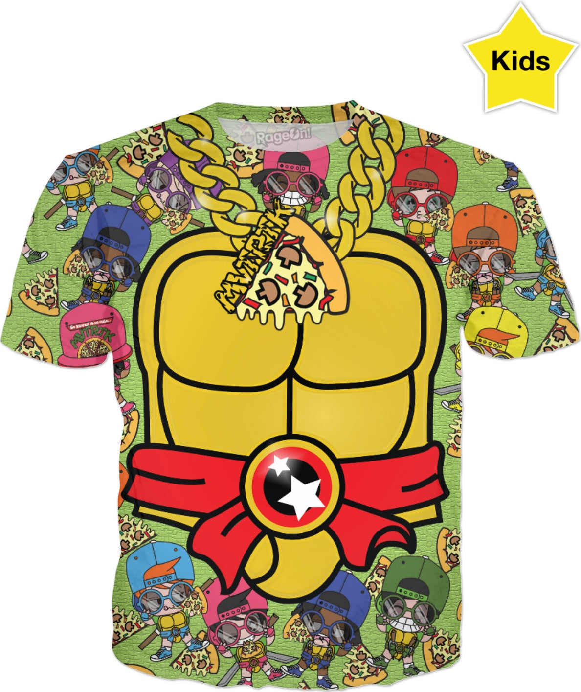 MVTRTK PIZZA Kids T-Shirt