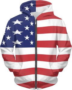 4th of July Adult Hoodie
