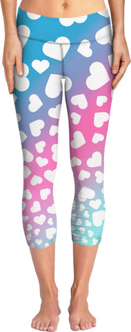 Hearts Ombre Yoga Psnts