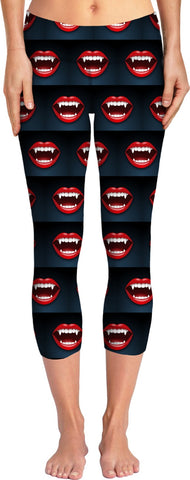 Halloween Vampire Yoga Pants