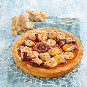 Los Peperetes Octopus in Paprika Sauce