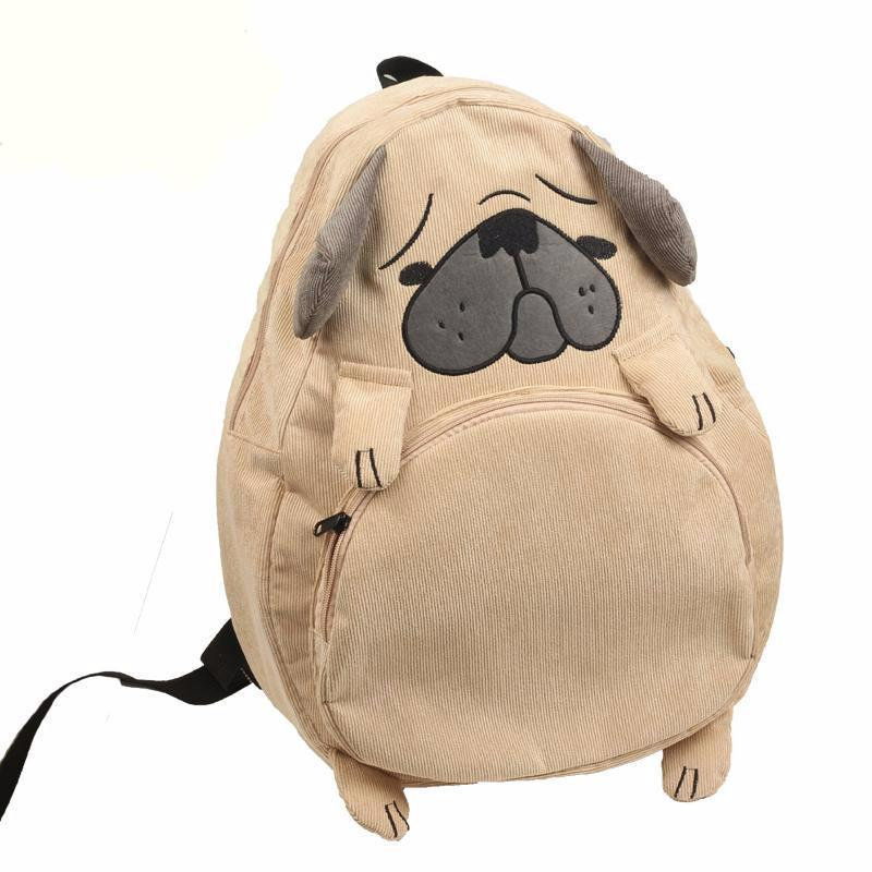 Aesthetic Dog Fox Ear Backpack