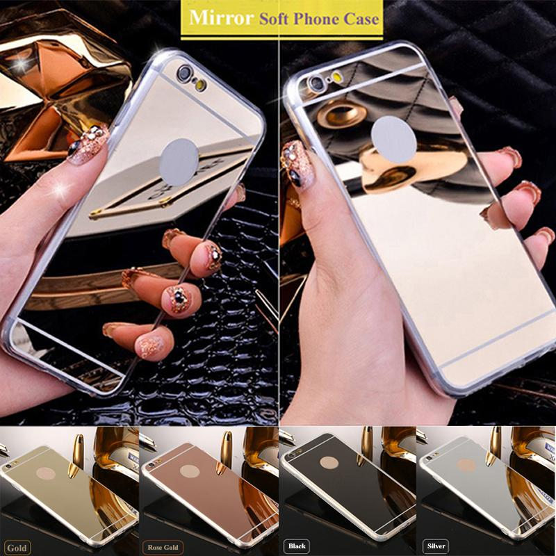 Luxury Mirror Shiny IPhone Aesthetic Cases