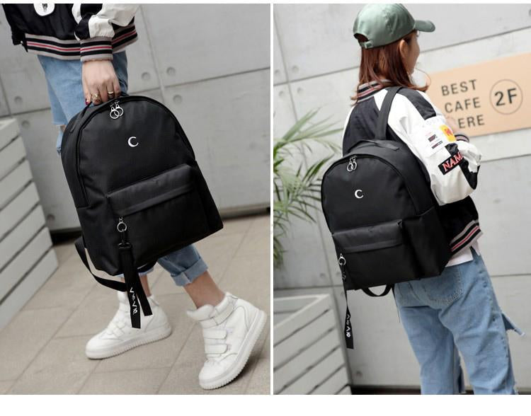 Aesthetic Moon Cross BackPack