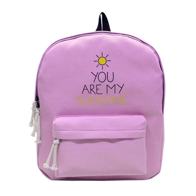 You Are My Sunshine Aesthetic Backpack