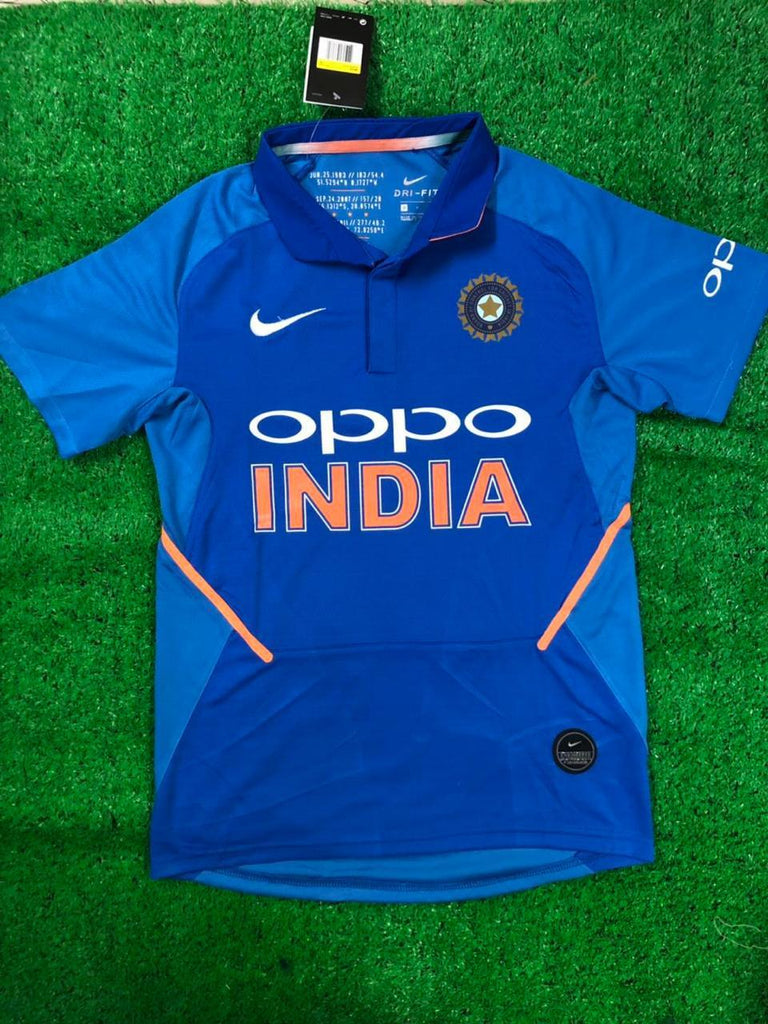 India Cricket World Cup DHONI 7 Jersey 2019 [Premium Quality]