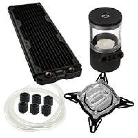 Black Ice 360Gts Professional Water Cooling Kit For Intel