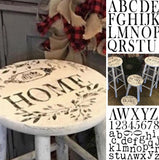 IOD Decor Stamp Typesetting