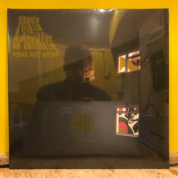 Arctic Monkeys - My Favorite Worst Nightmare - LP - indie