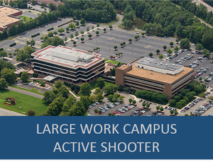 Large Industry Work Campus- Active Shooter Exercise