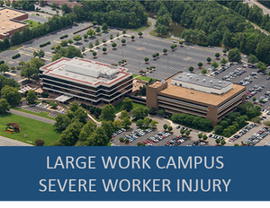 Large Industry Work Campus- Severe Worker Injury Exercise