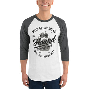 With Great Speed Women's Baseball Shirt