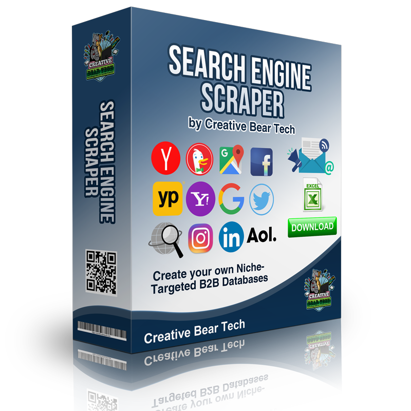 Search Engine Scraper and Email Extractor by Creative Bear Tech