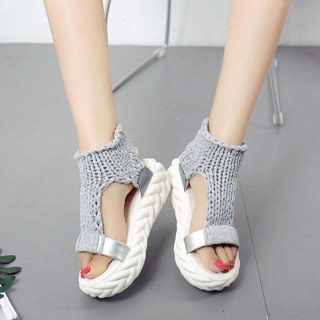 SUMSAN™ : Knitted casual-chic sandals