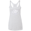 Cloud White OBX Lyfe Ladies' Triblend Racerback Tank in 14 Colors