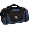 Embroidered Cloud White OBX Lyfe Port Authority Medium Color Block Gear Bag in 2 Colors